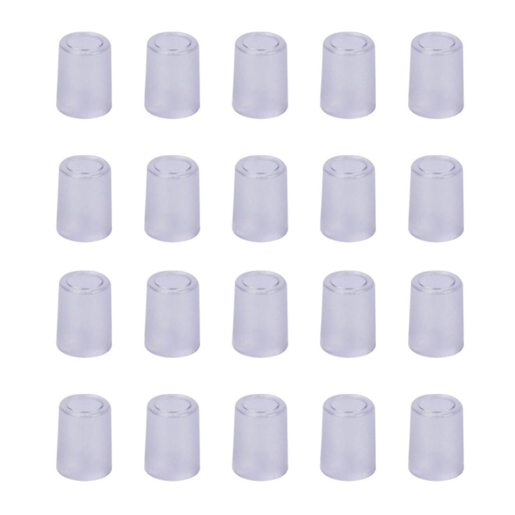 50Pcs Transparent Blowing Nozzle Mouthpieces for Digital Alcohol Tester AT6000