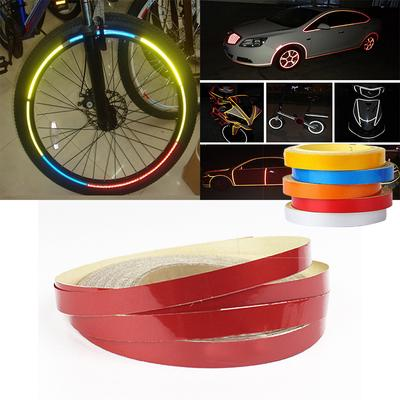 8M//Roll Bicycle Bike Car Motorcycle Reflective Stickers Night Riding Safety Tape