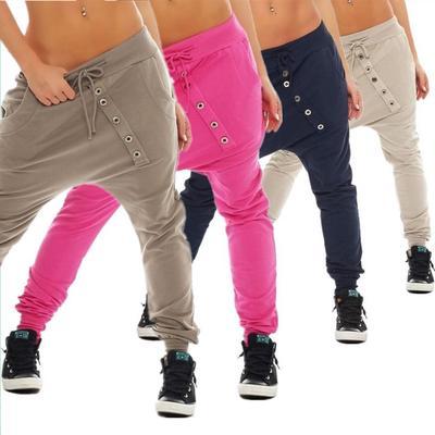 e41213b7cfc Плюс размер S-4XL брюки женщин спортивные брюки новые женщины   Мода Харен  свободные брюки