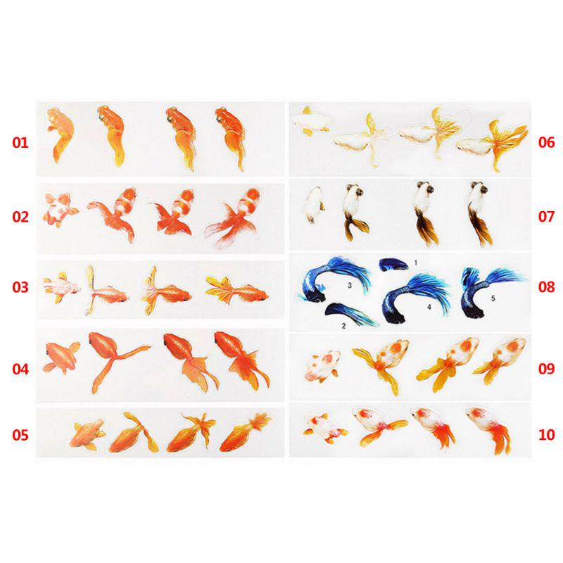 3Pcs 3D Silicone Koi Fish Epoxy Mold,Decorative Simulation Resin Fish Mould,for DIY Cake Baking Pendant Craf Jewellery Painting