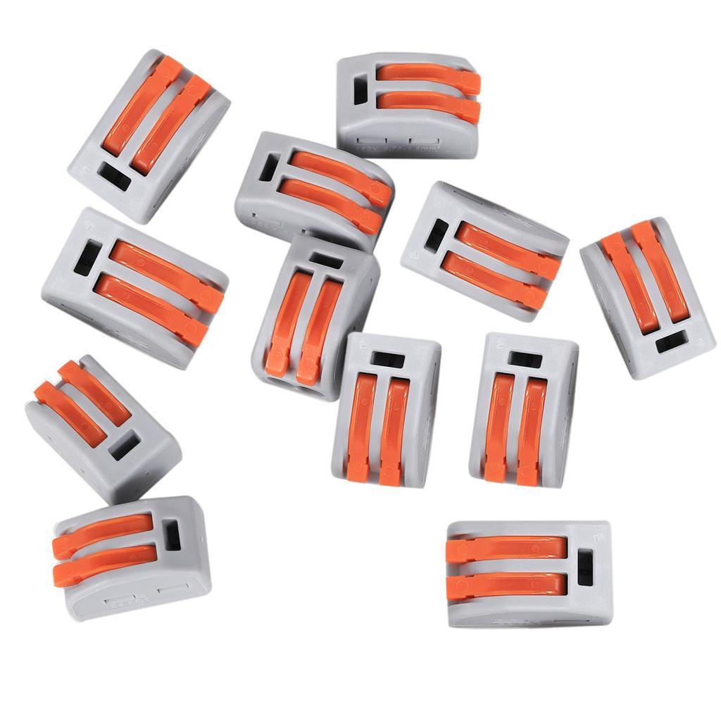 Conectores de cable el/éctrico Abrazadera Terminal Bloque Conector gris