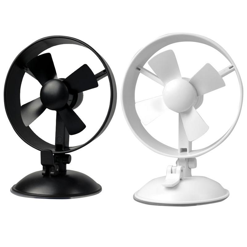 Mini USB Table Desk Personal Fan 360 Degree Adjustable Angle Desktop Double-Headed Fan Home Desktop USB Metal Design Quiet Operation USB Cable Fan Color : Gray, Size : One Size