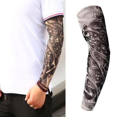Style Elastic Temporary Fake Slip On Tattoo Arm Sleeves Buy At A Low