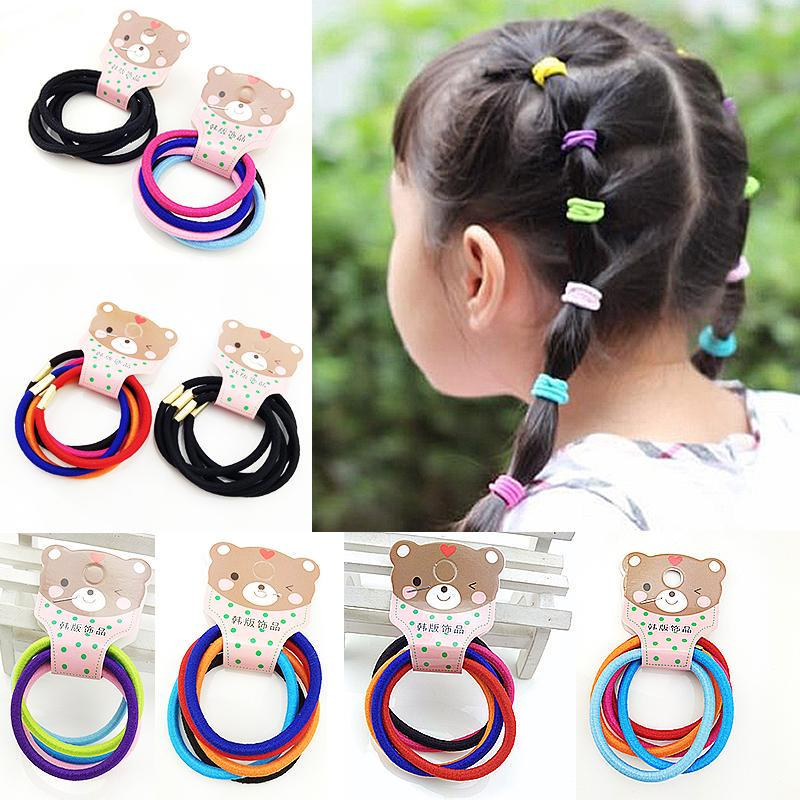 Hair Tie Plush Ball Band queue de cheval élastique Corde Fashion Enfants Fille Accessoires