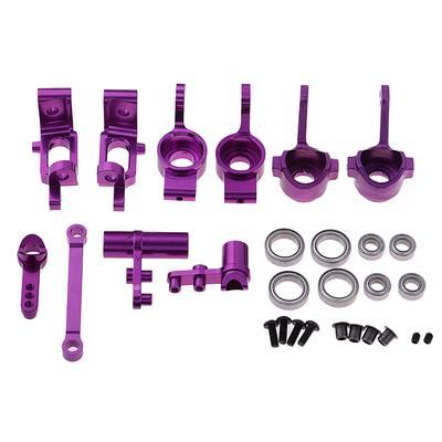 2pcs hsp 94111//94188 aluminum steering linkage 1:10 rc upgrade parts TS
