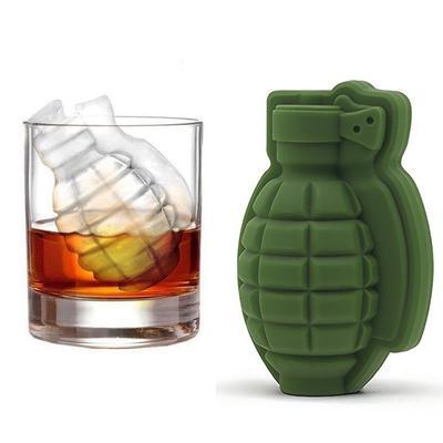 Ice Pistol Silicone Mold Gun//AK47 3D Shape //Grenade Maker Bullet Cube