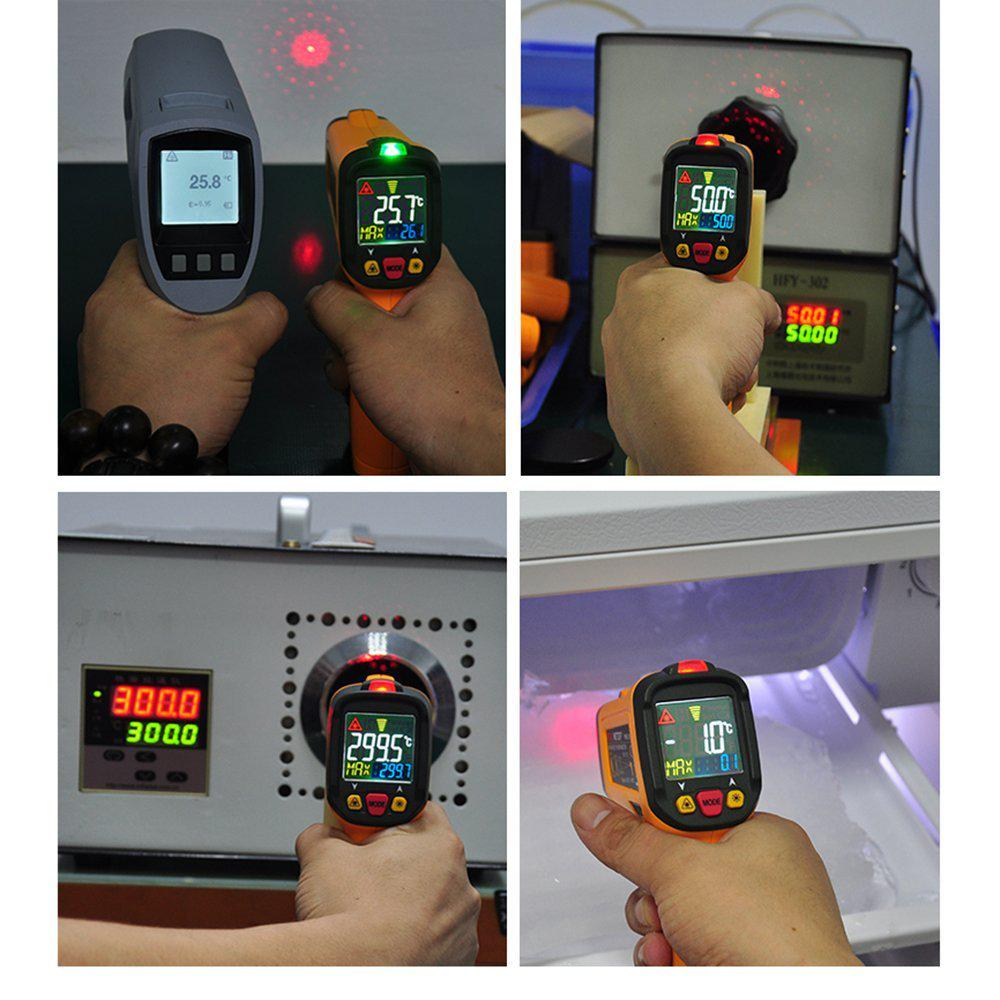 500 degrees F Range Digital Thermometer with Backlight Display 40 degrees F to