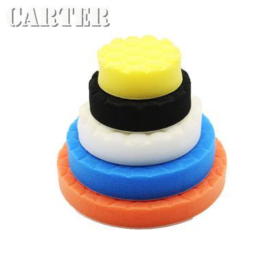 5 pcs Polishing Sponge Waxing Buffing Pads Compound Auto Car Polisher Clean