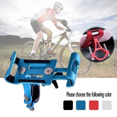 Bike Motorcycle Mount,Universal Adjustable Silicone Bicycle Phone Holder Motorcycle Handlebar Mobile Phone Seat,Supports 4.0-6.0 Smartphone Suitable for Mountain Bike//Motorcycle//Bicycle etc