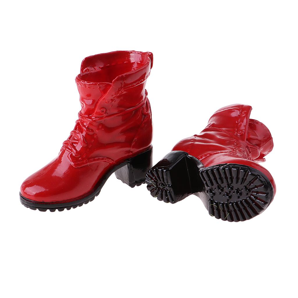 08d728f81cd Pair of female boots 1/6 female action figure accessory combat boots shoes  phicen toy