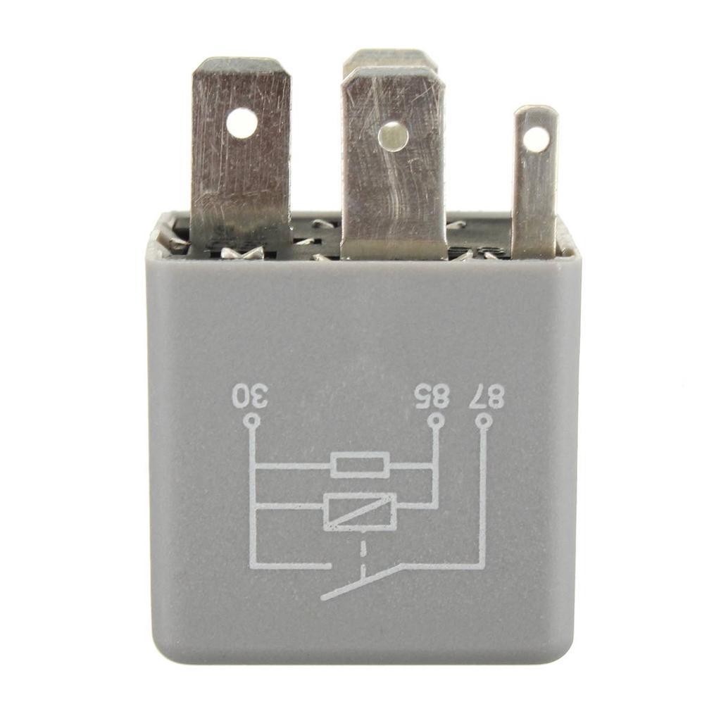 ECU Fuel Pump Relay Number 109 12v 1J0906381A Grey 357906381A