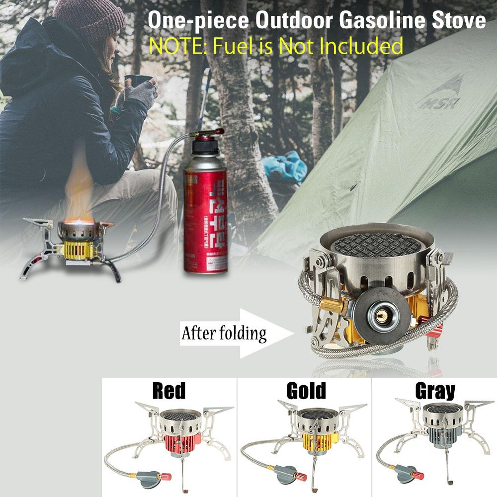 Outdoor Picnic Burner Alcohol Stove Camping Hiking Backpacking Mini Furnace