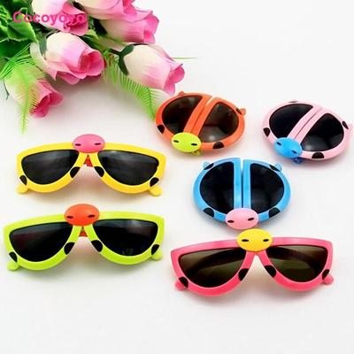 a5fd901fa1 Top Sell 1pc Cute Ladybug Baby Boy Girls Kids Sunglasses Goggles Eyewear  Children Gift