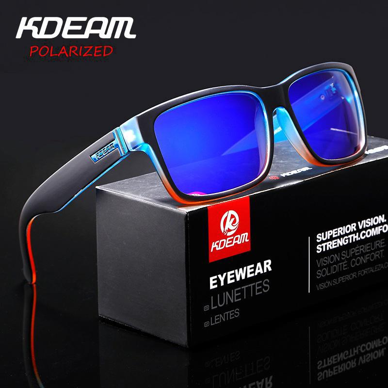 Kdeam 4 Colors Mens Sport Large Oversize Sunglasses Outdoor Cycling Goggles New