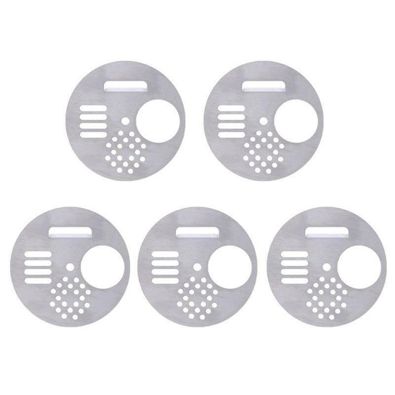 5pcs Plastic Hive Entrance Nest Gate Door Beekeeping Equipment