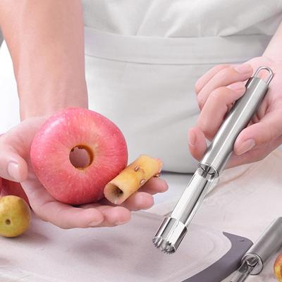 Pepper Corer Seed Remover Stainless Steel Core Apple Peeler Kitchen Pear Tools