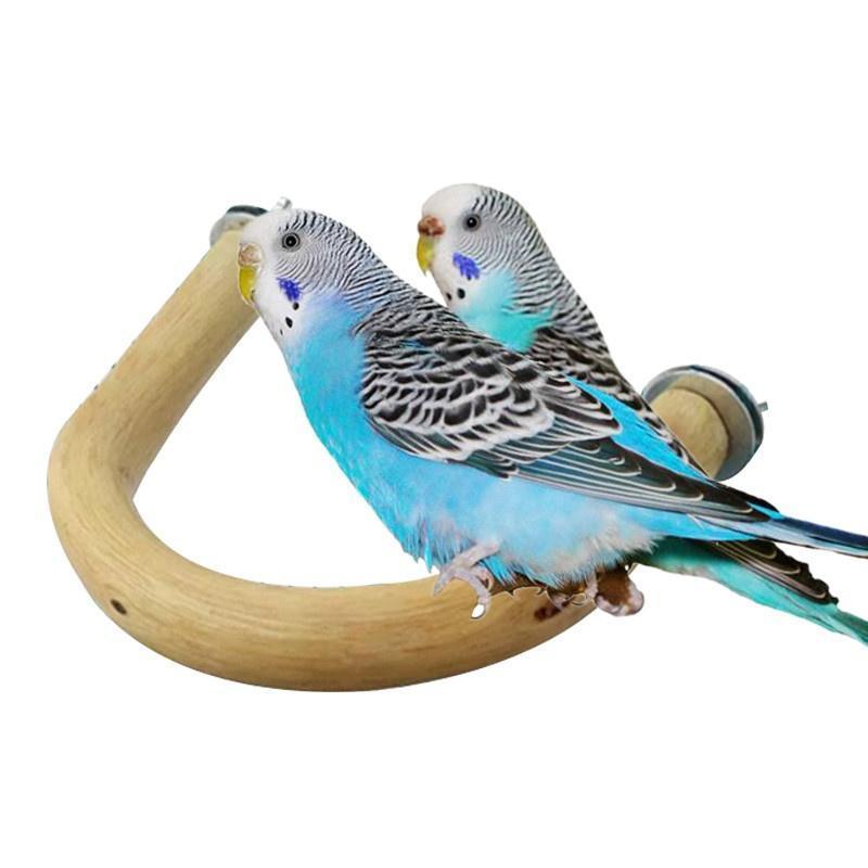 1 x Papagei Spielzeug Vögel Klaue Sticks Papageien Station waren U ...