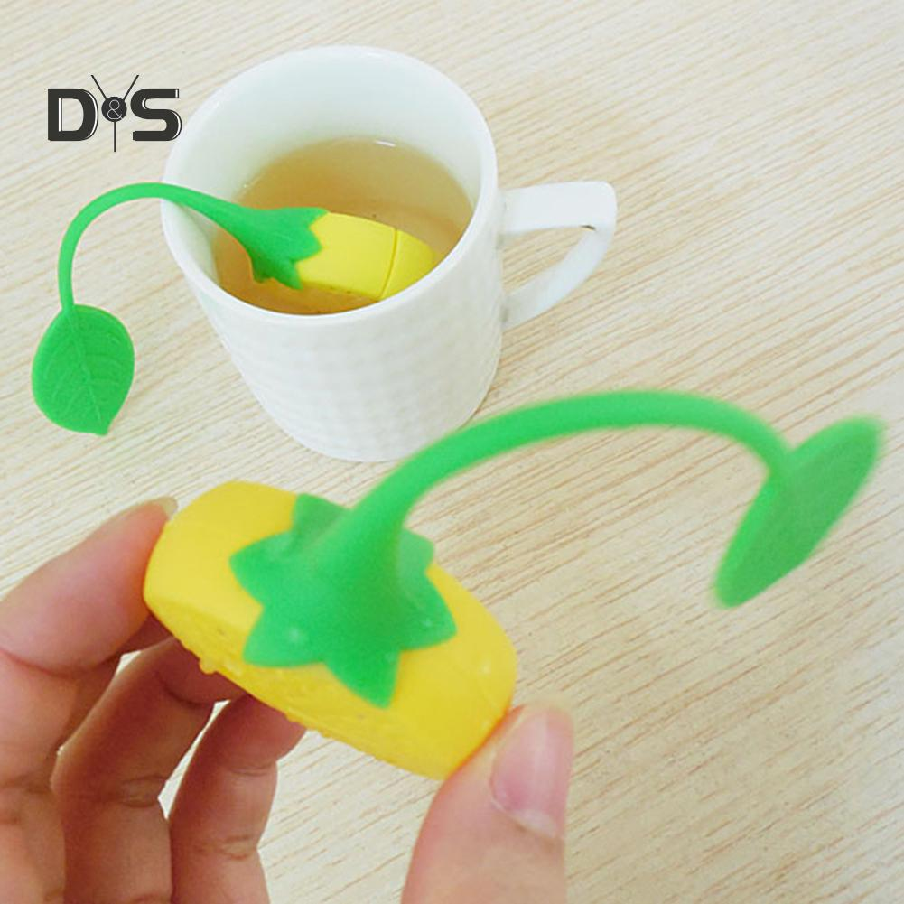 1Pcs Filter Tea Filter Double Handles Cups For Hanging On Mugs Infuser Strainer
