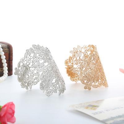 eac994d05e41 Joyería de moda plata plateado reglable con anillo abierto múltiples líneas  chicas. Comprar · -72 %