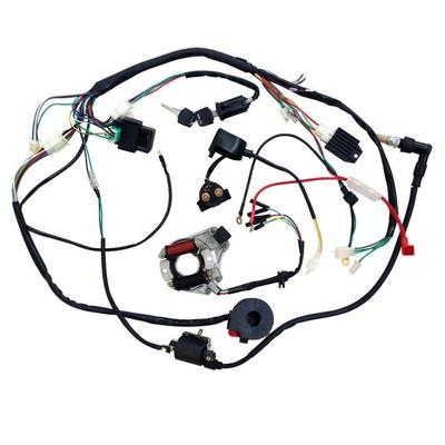 For 50 70 90 110CC ATV Quad Gokart Full Electrics Wire Harness Coil CDI  Wiring Set-buy at a low prices on Joom e-commerce platformJoom