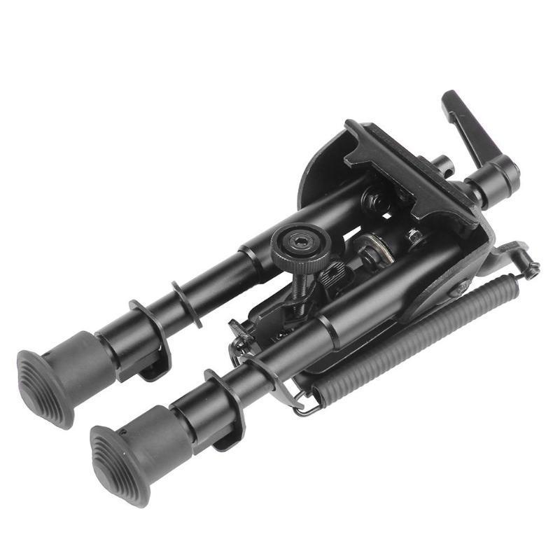"""6/"""" 9/""""Compact Adjustable Handy Spring Return Sniper Hunting Tactical Rifle Bipod"""