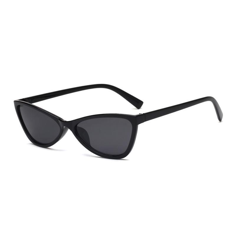 New Vintage Black Cat Eye Sunglasses Women Fashion Brand Designer Mirror Small Frame Cateye Sun Glasses For Female Shades Uv400 Buy At A Low Prices On Joom E Commerce Platform