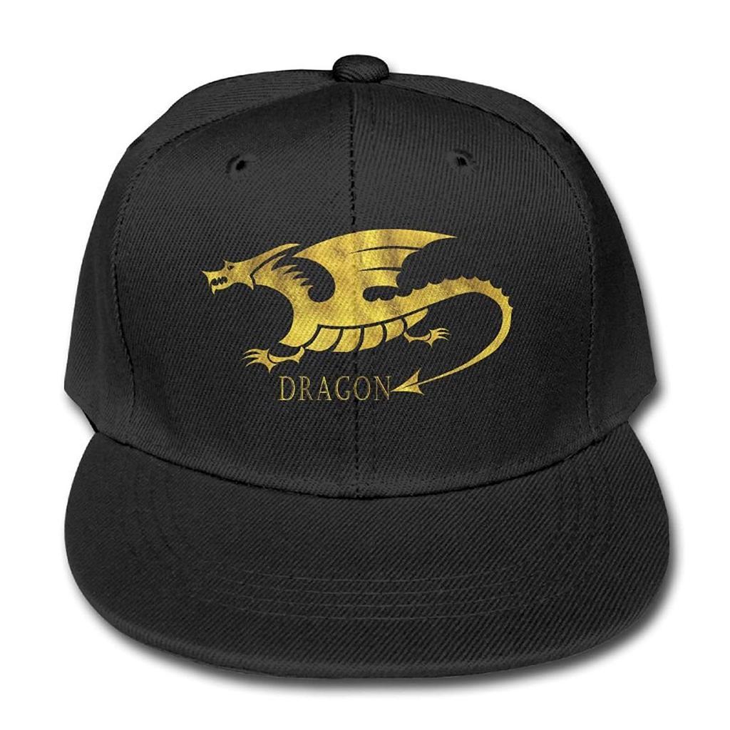 Sombrero para el sol dragón dorado gorra de beisbol algodón camionero  ajustable niños 830fac75743