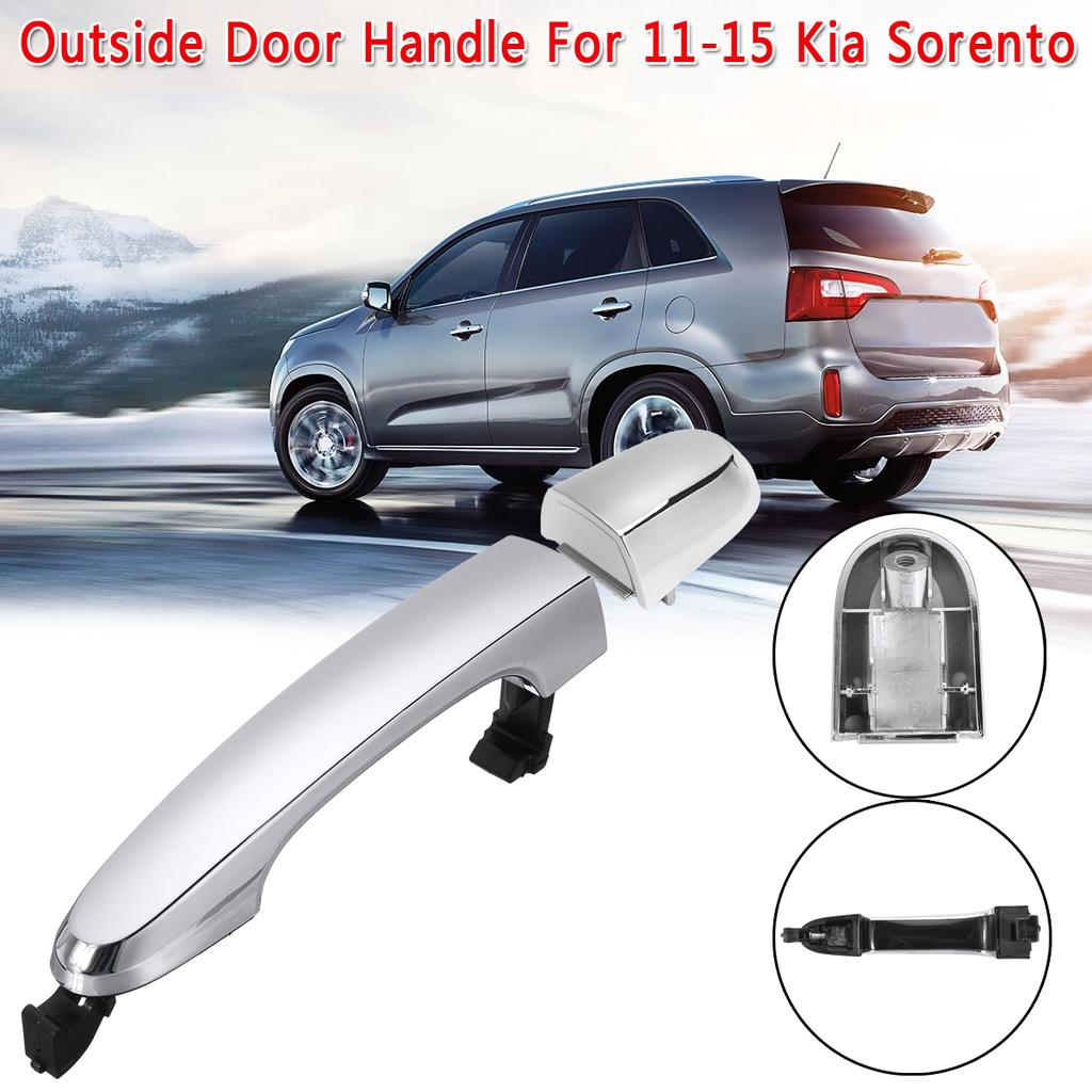 Rear Exterior Outside Door Handle Chrome RH Right Passenger Side for Sorento