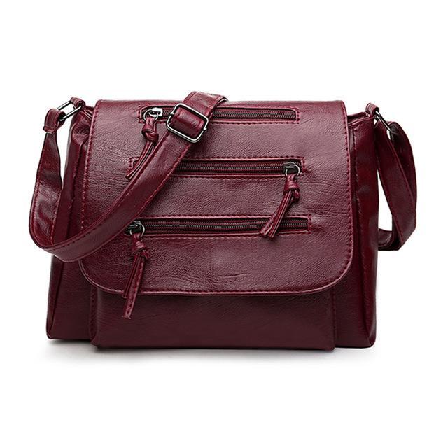 Women Lady Waterproof Single-shoulder Messenger Crossbody Bag Purse Travel JA