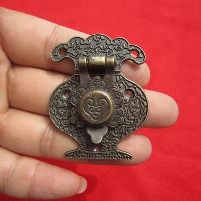 4PCS Antique Bronze Hasp Latch Jewelry Wooden Box Lock Cabinet  Case Lock  new.
