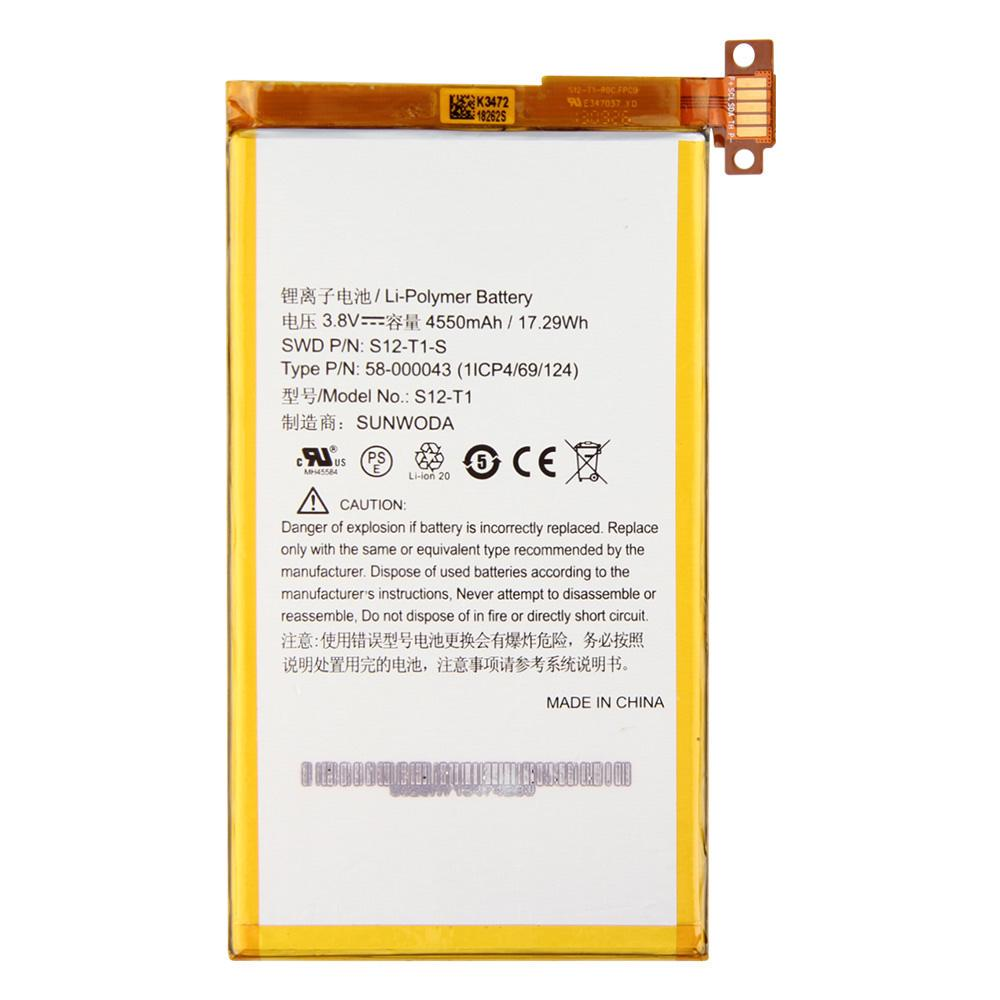 Original Replacement Battery S40 T40 S40 T40 S For Amazon Kindle Fire HDX 40  C40R40QM Kindle Fire HDX Battery 40mAh