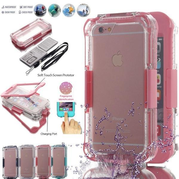 6m Underwater Waterproof Cover Casing for iPhone XS Max 6.5 inch