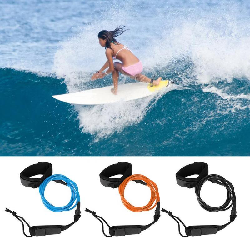 Stand Up Paddle Board Surfboards Leash Coiled Wrists String Surf Legs Foot Ropes
