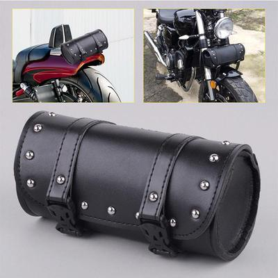 2x Motorcycle Black Mini Luggage Tool Saddle Bags for Harley Touring Sportster