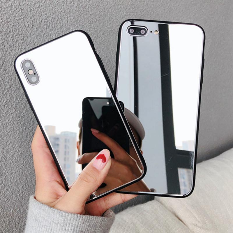 Для Huawei Честь 9A Силиконовой Зеркало Макияж