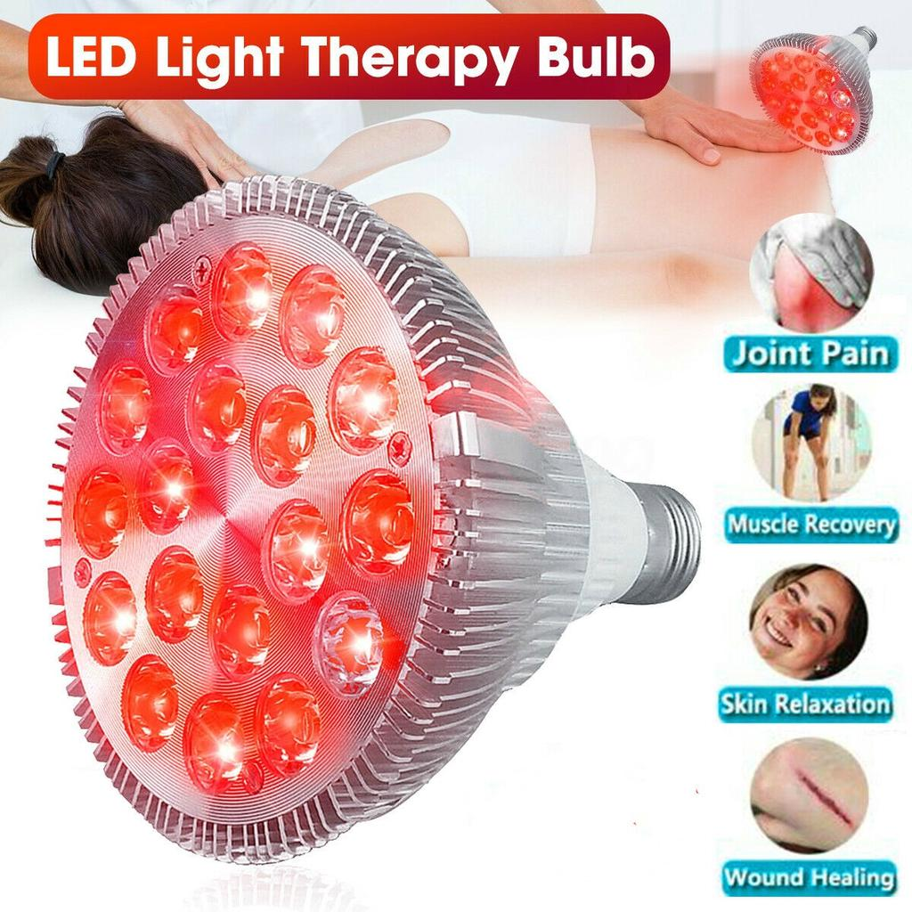 36W Infrared LED Therapy Pad Red Light Lamp Deep Penetration