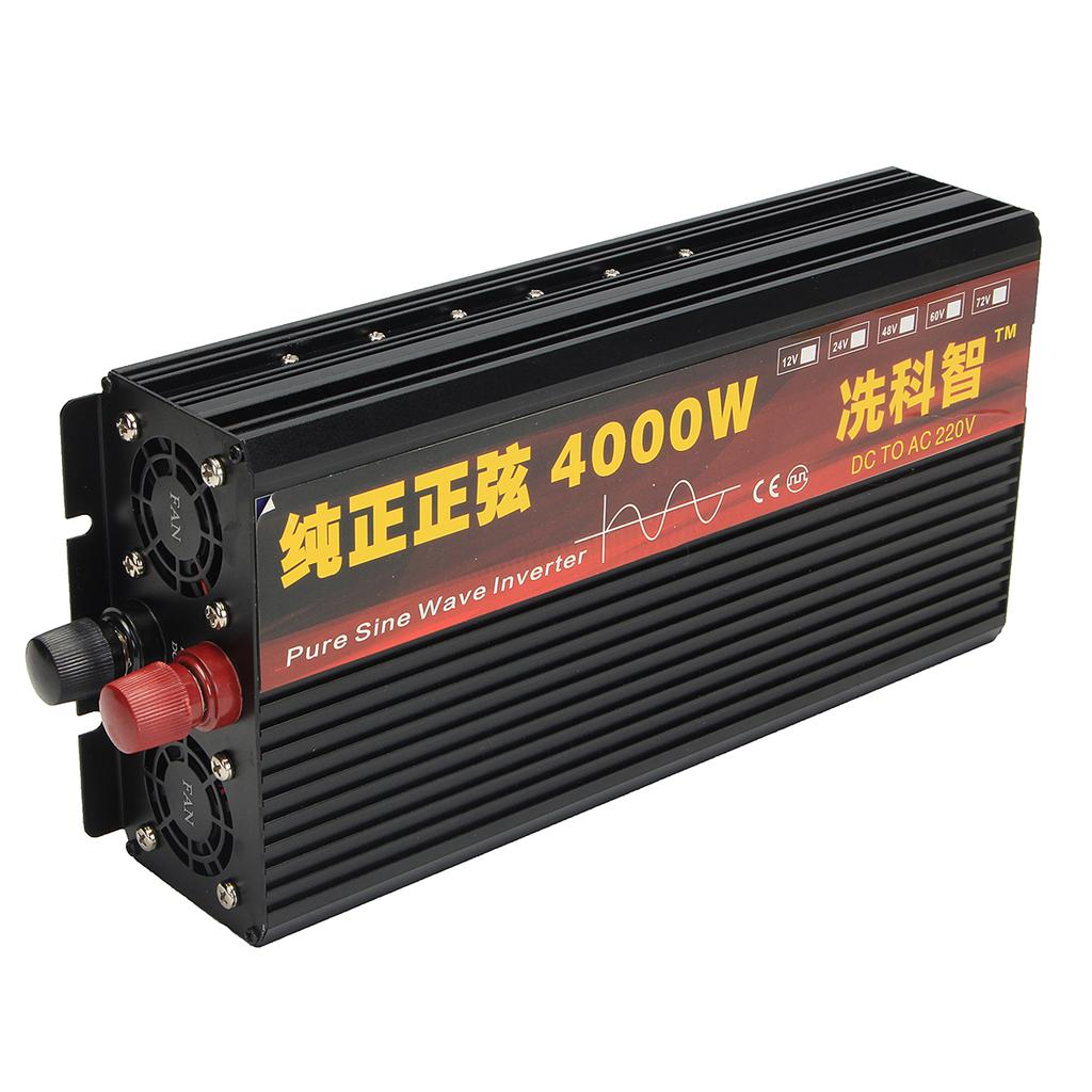 2000w 3000w 4000w Power Inverter Pure Sine Wave Transformer 12v 24v Waterproof Battery Charging Circuit Board For 1 Of 12