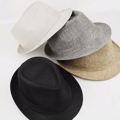 Men Sun Hats Summer Fashion Adult Beach Faux Suede Unisex Solid Hat
