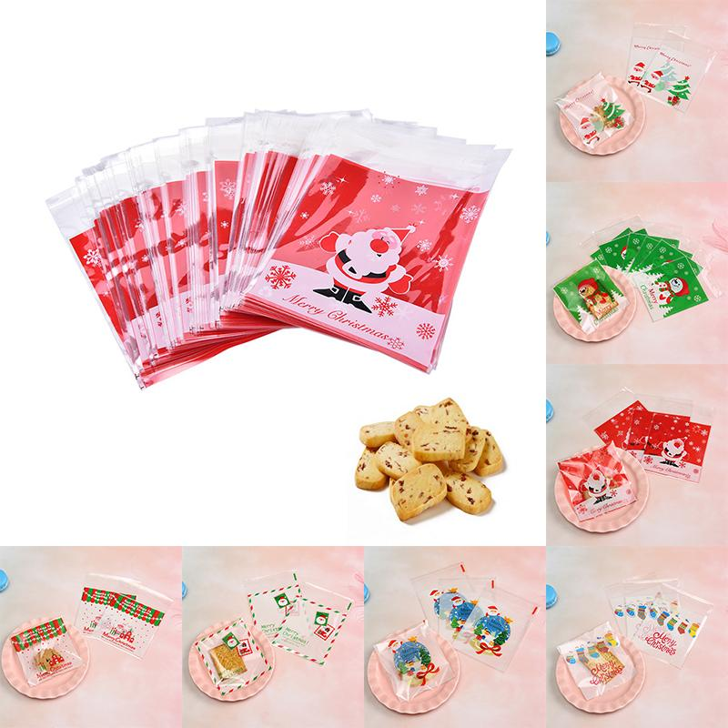 20 Pcs Self Seal Adhesive Lace Flower Plastic Cellophane Cookie Candy Gift Bag