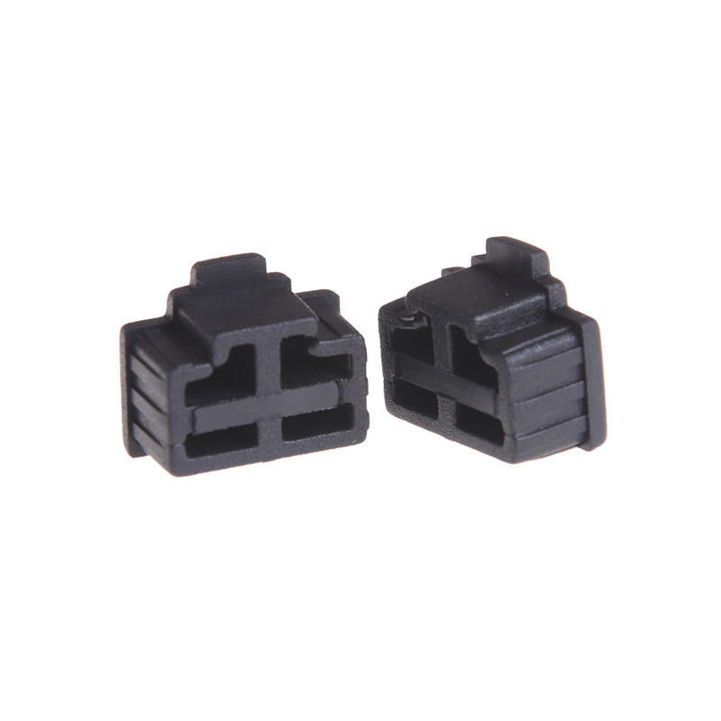 Hot Sale 10pcs Black Ethernet Hub Port Rj45 Anti Dust Cover Cap Protector Plug For Rj45 Female Jack Buy One Give One Computer & Office