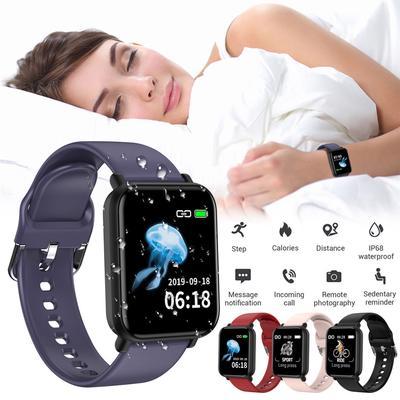 Suda R16 Smart Watch Men IP68 Waterpoof Smartwatch Women Men Fitness Wristwatch