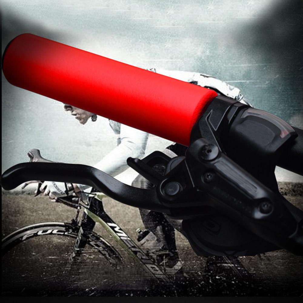 Bike Racing Bicycle Motorcycle Handle Bar Foam Sponge Grip Cover Non Slip Men