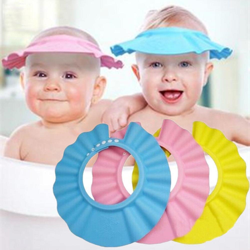 Soft Baby Kids Children Shampoo Bath Bathing Shower Cap Hat Wash Hair Shield Buy At A Low Prices On Joom E Commerce Platform