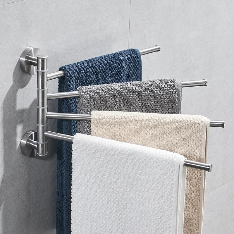 180 Degree Rotatable Towel Rack, Towel Hanger Bathroom