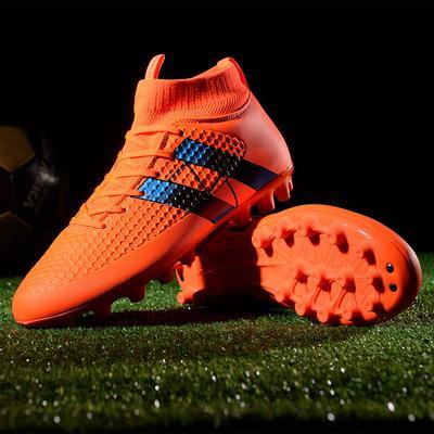 a7d36a75 Zapatos de futbol al aire libre de los hombres zapatos superior alta TF/FG  botas