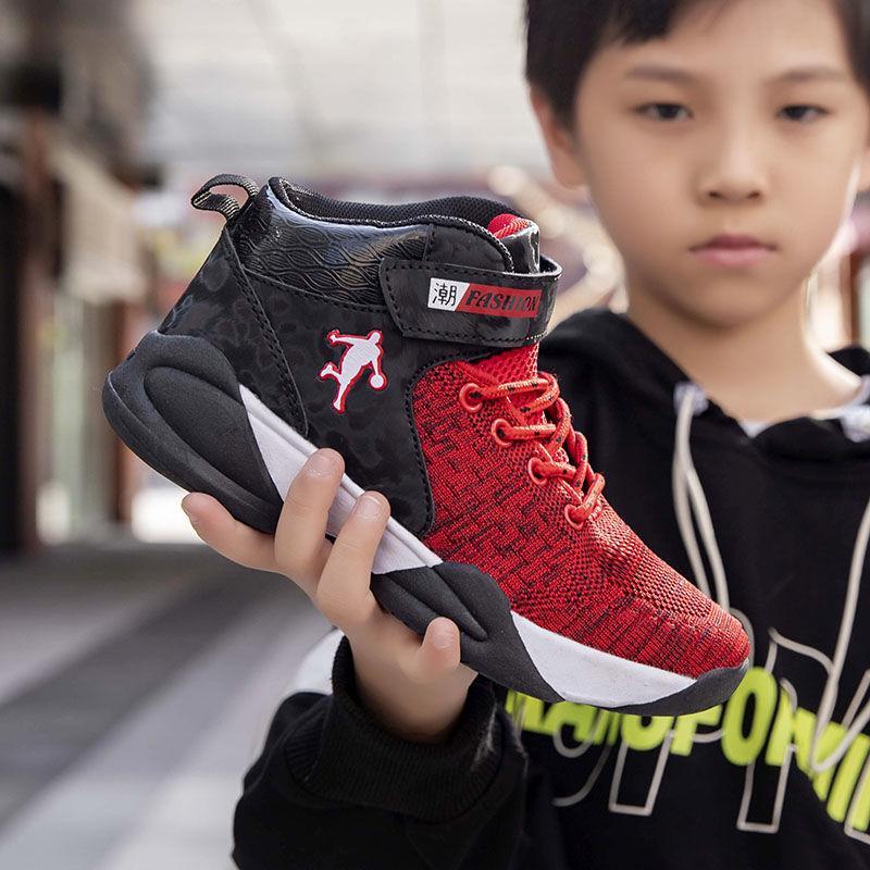 Kids Basketball Shoes Sport Shoes Kids Jordan Retro Children Sport Shoes Outdoor Boy Trainer Basket Zapatillas