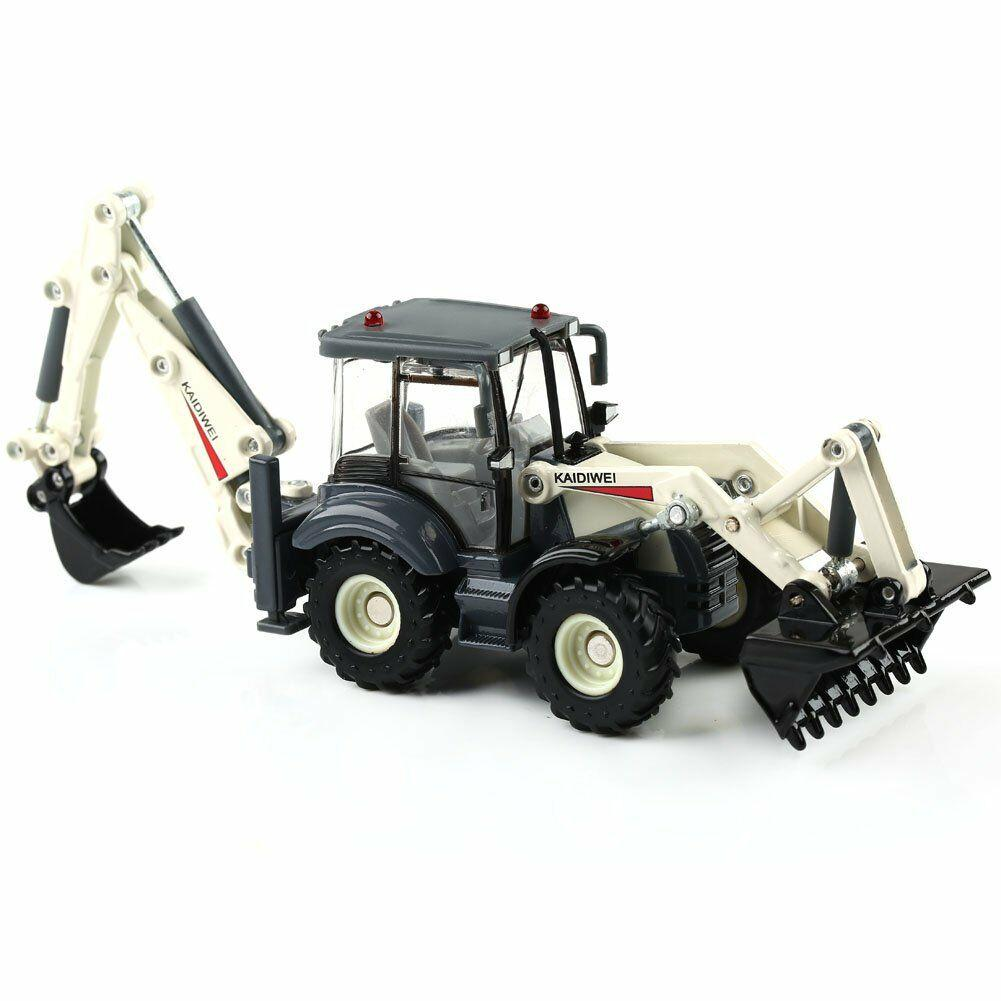 KDW 1//50 Scale Bidirectional Excavator Construction Equipment Diecast Model 1:50