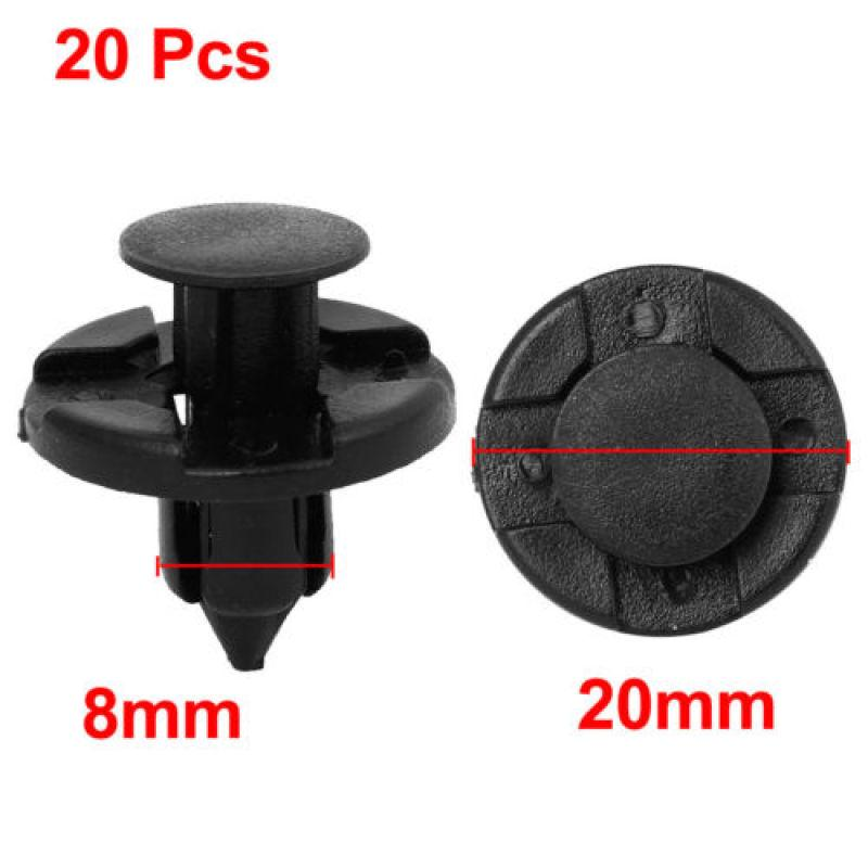 10pcs Car Trim Door Panel Retainer Clips Rivet Fastener 8mm Hole For Vauxhall  !