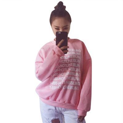 106660c44efc8 Женские свободные случайные печати Толстовки теплый пуловер топы блузка с  длинным рукавом