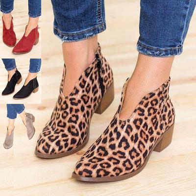 48fb0684d Женщины замшевые Полусапожки обувь дамы коренастый середине высокие каблуки  Гладиатор Обувь больших размеров